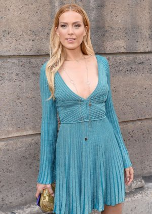 Petra Nemcova in Mini Dress - Out in Paris