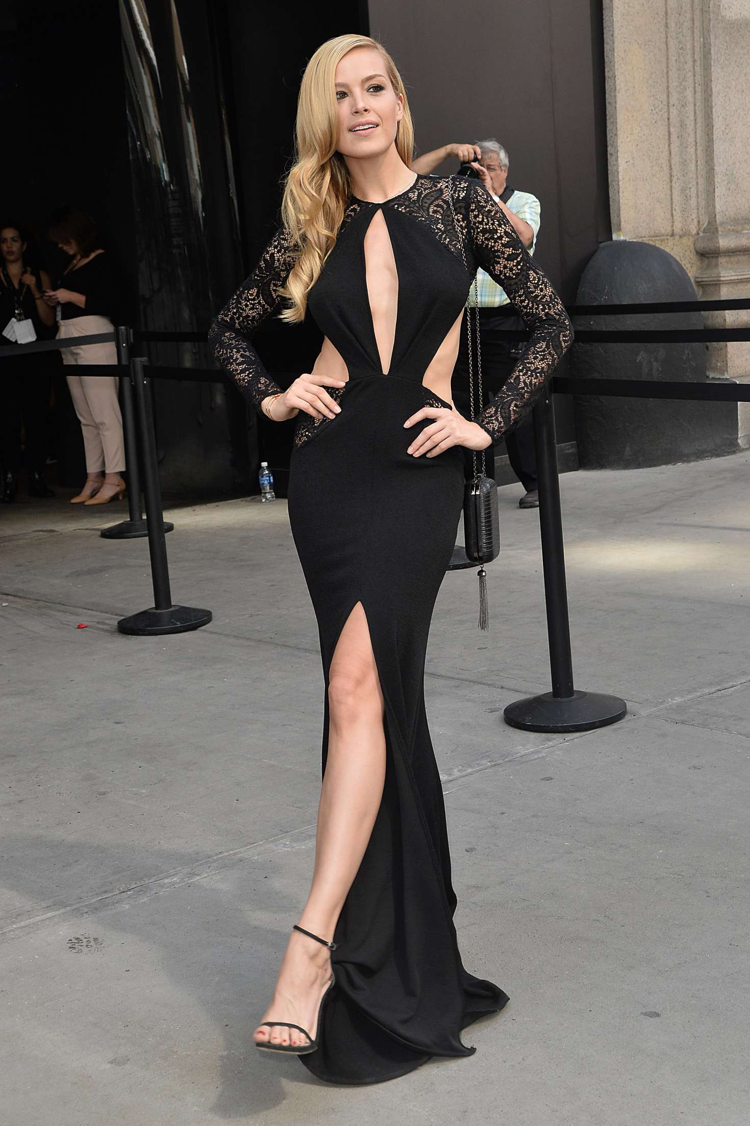Petra Nemcova Michael Costello Show At 2016 New York