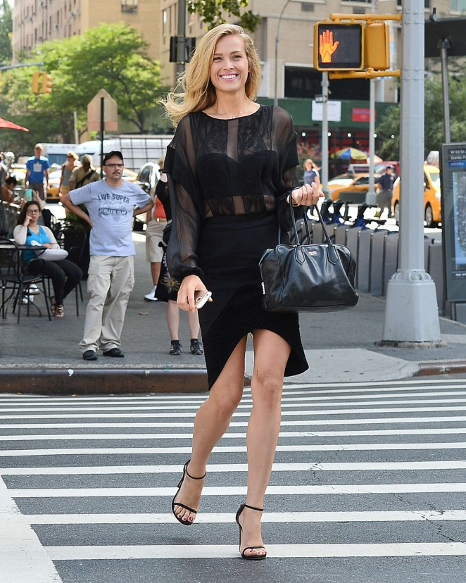 Petra Nemcova: Out in New York -01