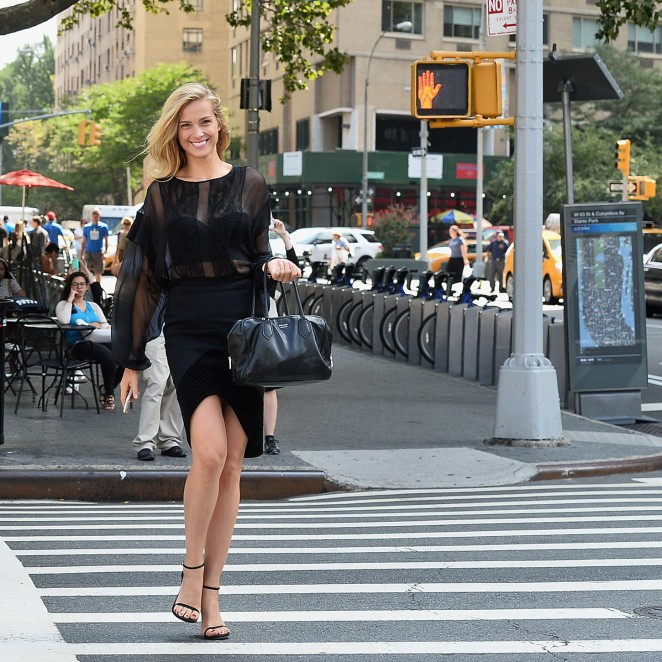 Petra Nemcova: Out in New York -03