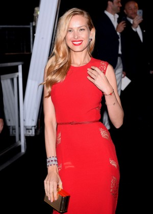 Petra Nemcova - Soiree Chopard 'Gold Party' in Cannes