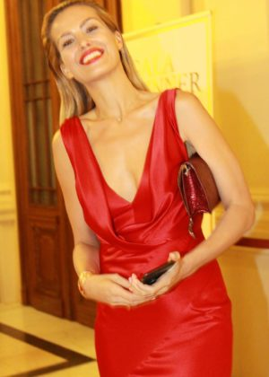 Petra Nemcova - The Gala Dinner Happy hearts fund in Prague