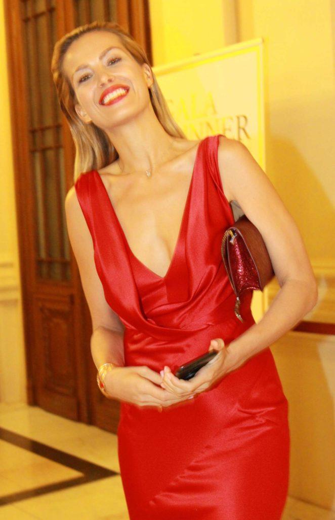 Petra Nemcova - The Gala Dinner Happy hearts fund in Prague