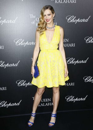 Petra Nemcova - 'The Garden of Kalahari' Movie Presentation in Paris