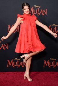 Peyton Elizabeth Lee - 'Mulan' Premiere in Hollywood