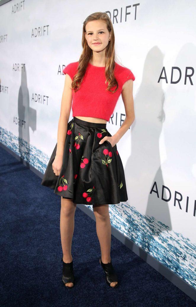 Peyton Kennedy - 'Adrift' Premiere in Los Angeles