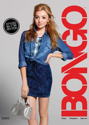 Peyton R List: Bongo Campaign 2015-04
