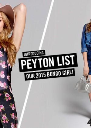 Peyton R List: Bongo Campaign 2015-12