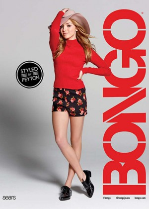 Peyton R List: Bongo Campaign 2015-24