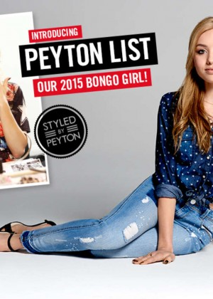 Peyton R List: Bongo Campaign 2015-25