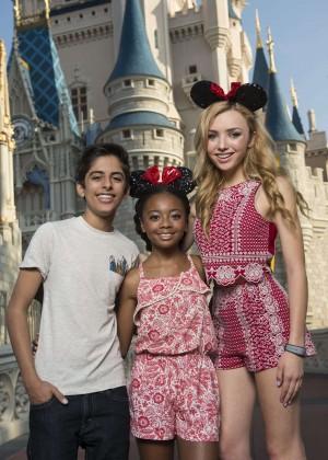 Peyton R List - Coolest Summer Ever Kick Off at Walt Disney World in Florida
