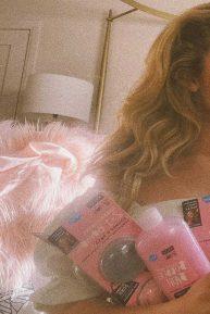 Peyton R List - Hallu by Peyton bath products campaign 2020