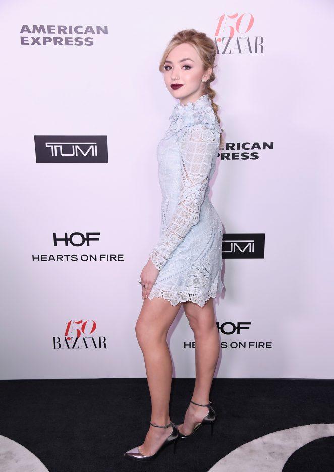 Peyton R List - Harper's Bazaar Celebrates 150 Most Fashionable Women in West Hollywood