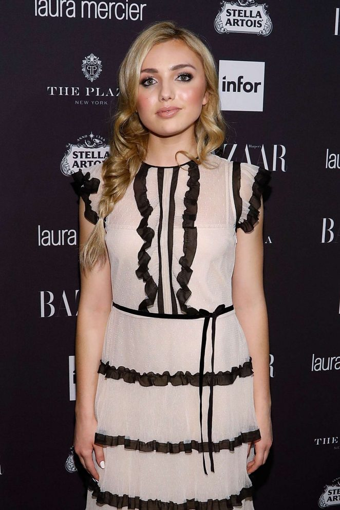 Peyton R List - Harpers Bazaar Icons Party 2016 in NYC