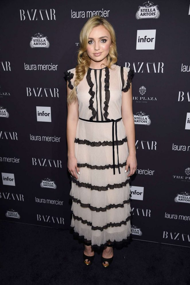 Peyton R List: Harpers Bazaar Icons Party 2016 -14