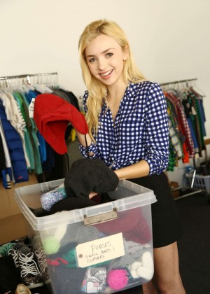Peyton R List - Jessie wardrobe sale at Hollywood Center Studios