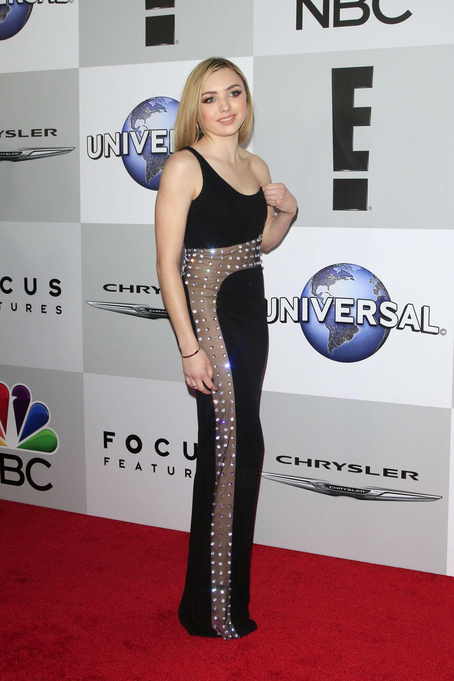 Golden Universal Tarot: Peyton R List: NBC Universal Golden Globes 2016 After