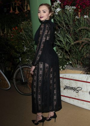 Peyton R List - Teen Vogue Young Hollywood Party in Los Angeles