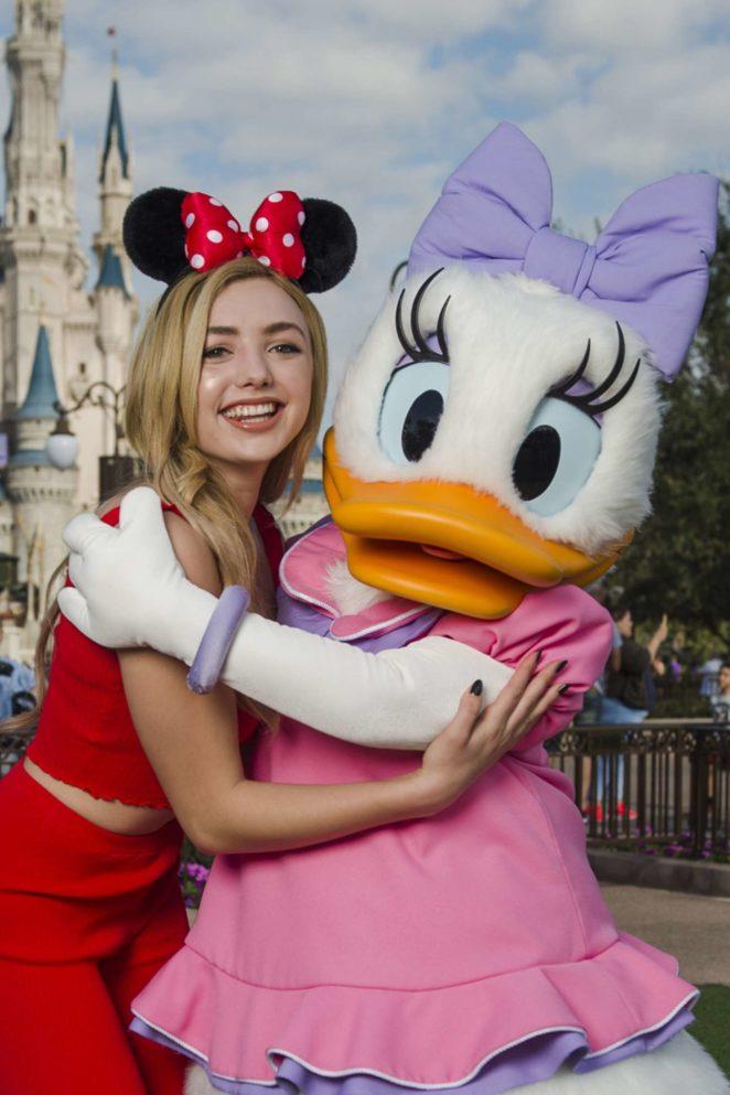 Peyton R List - Visits Magic Kingdom Park at Disney World in Florida