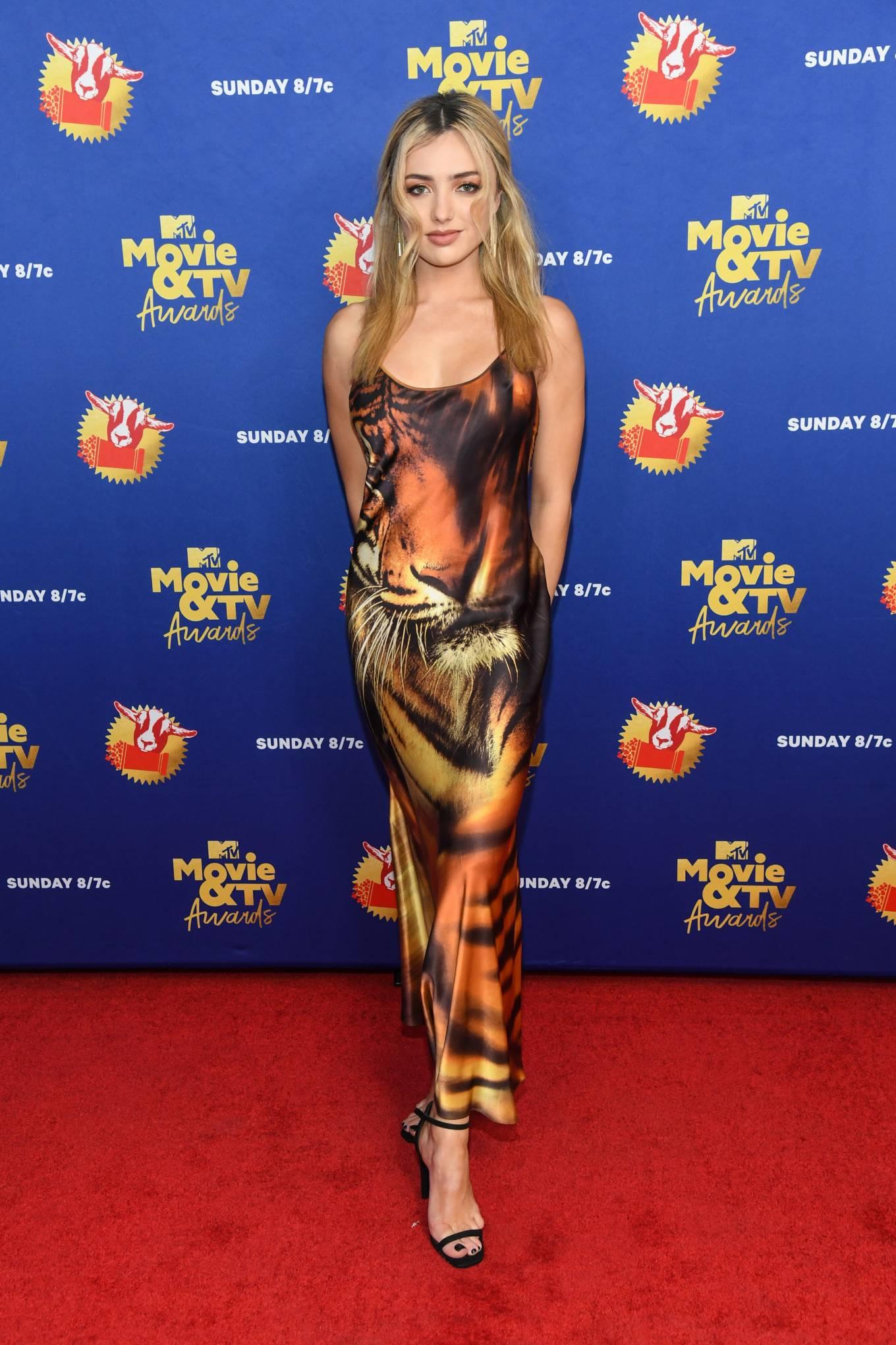 Peyton Roi List 2020 : Peyton Roi List – 2020 MTV Movie and TV Awards: GOAT in LA-08