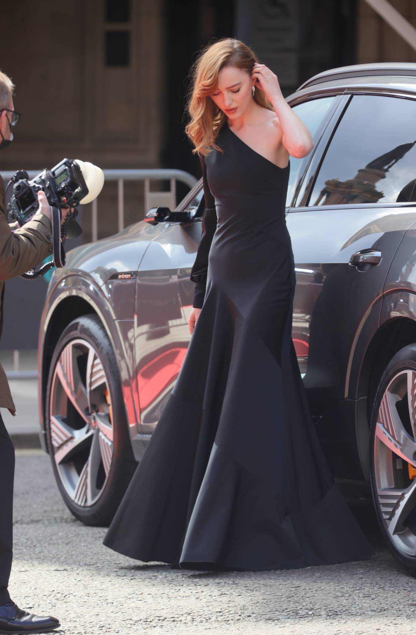 Phoebe Dynevor 2021 : Phoebe Dynevor – at the Royal Albert Hall for 2021 British Academy Film Awards in London-09