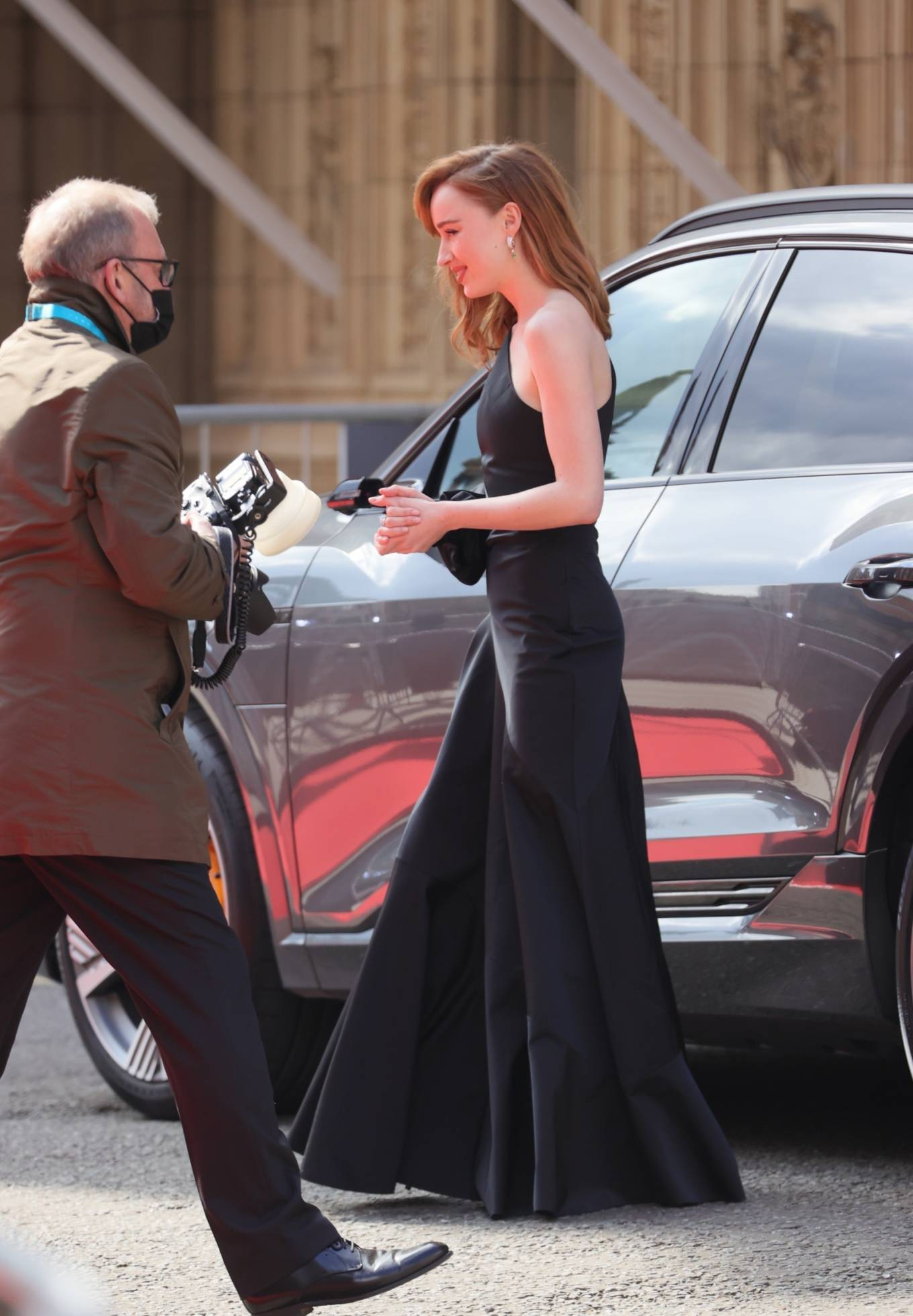 Phoebe Dynevor 2021 : Phoebe Dynevor – at the Royal Albert Hall for 2021 British Academy Film Awards in London-14