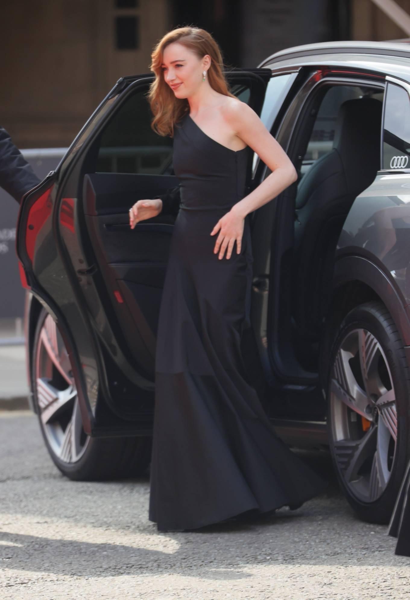 Phoebe Dynevor 2021 : Phoebe Dynevor – at the Royal Albert Hall for 2021 British Academy Film Awards in London-18