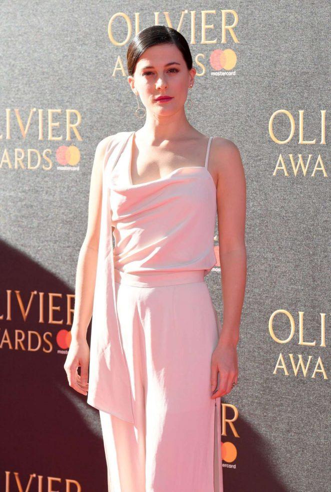 Phoebe Fox - 2017 Olivier Awards in London