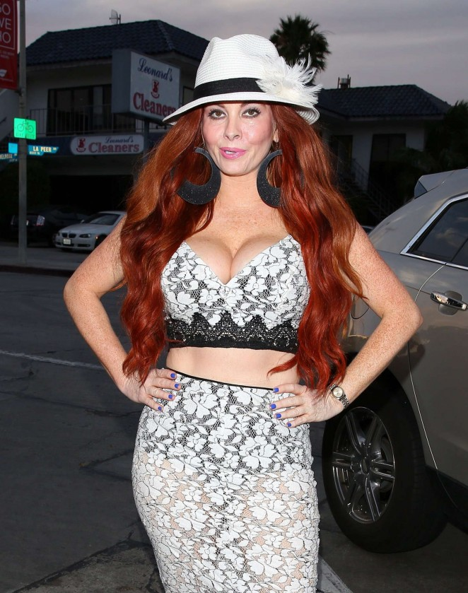 Phoebe Price at Craig's in West Hollywood