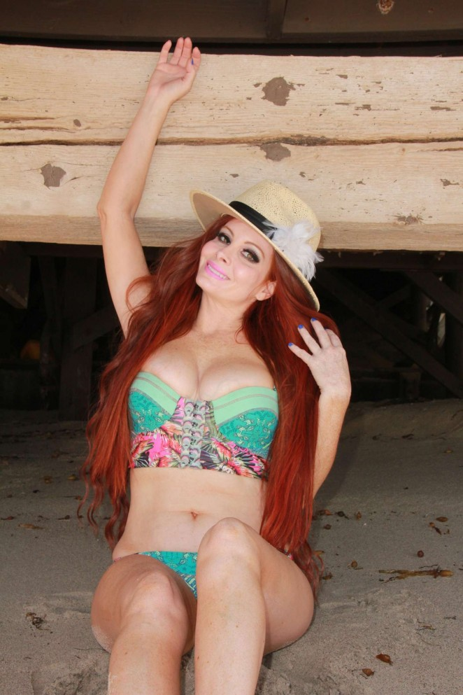 Phoebe Price - Bikini Photoshoot 2015