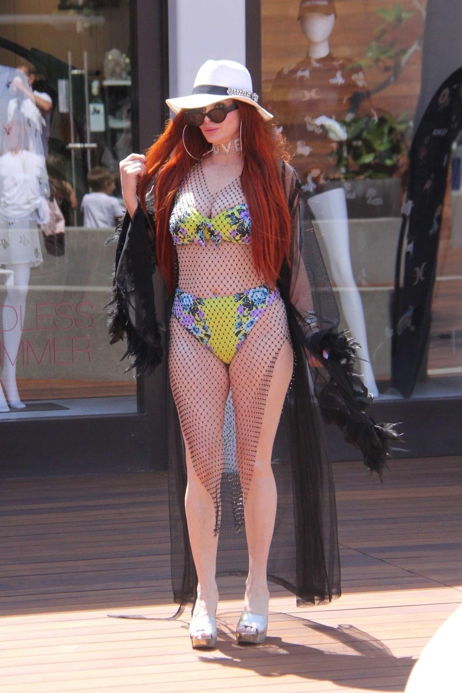 Phoebe Price in Bikini in Malibu