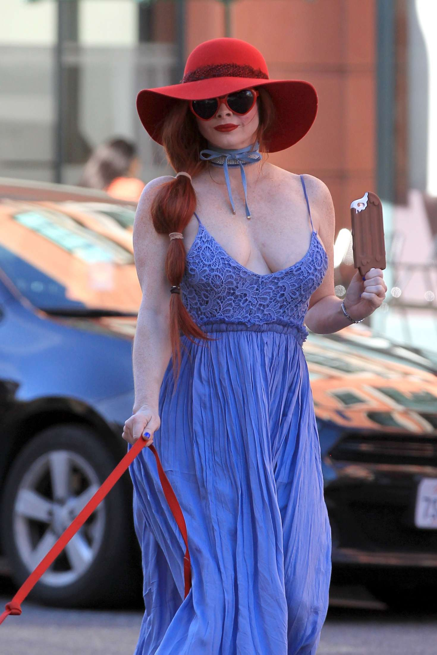 Phoebe Price in Blue D...