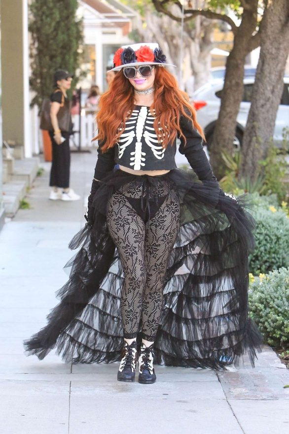 Phoebe Price - Out in Beverly Hills