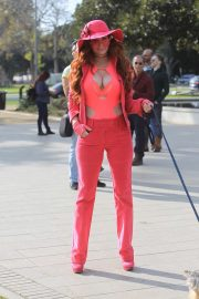 Phoebe Price - Out shopping in Beverly Hills