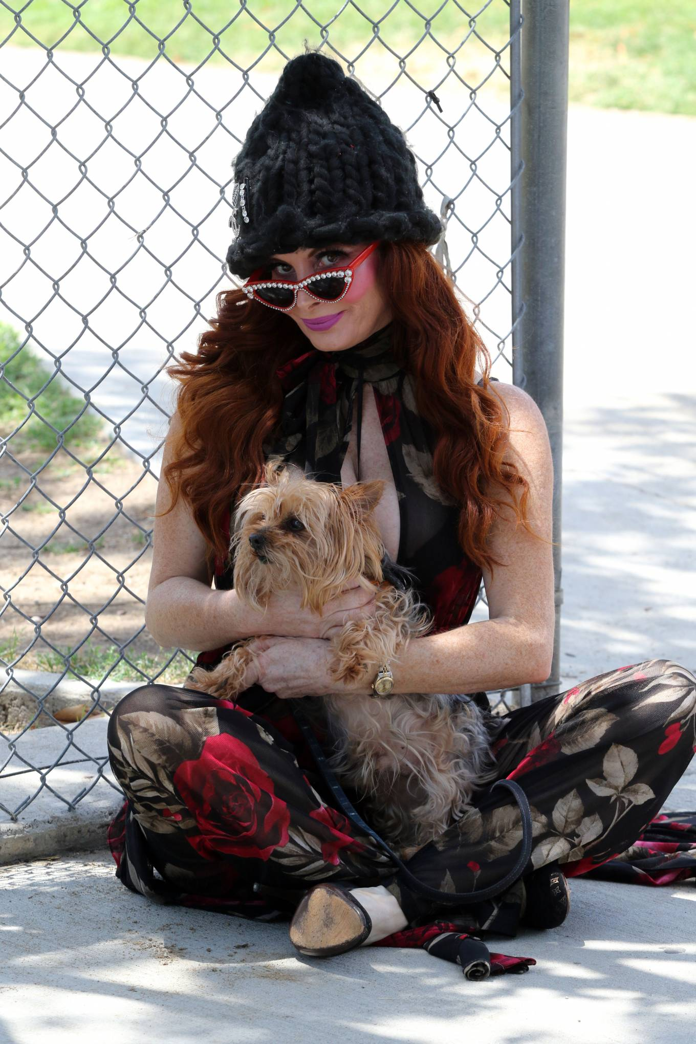 Phoebe Price 2020 : Phoebe Price – Out with her dog Henry in Los Angeles-09