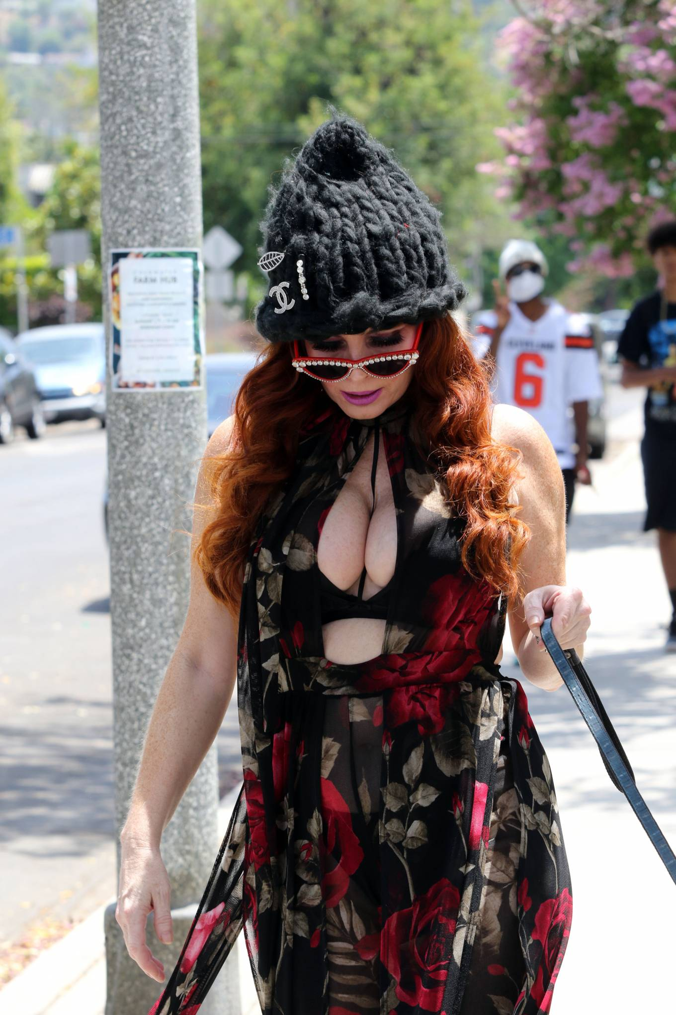 Phoebe Price 2020 : Phoebe Price – Out with her dog Henry in Los Angeles-10
