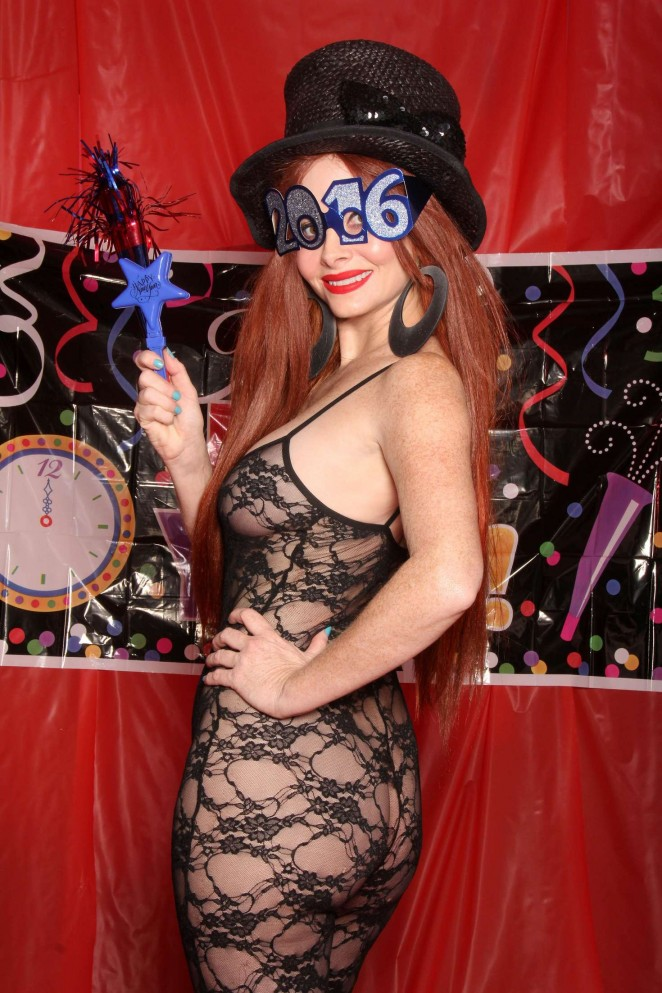 Phoebe Price - Phoebe Price's Very Risque Happy New Years 2016 Shoot in Beverly Hills