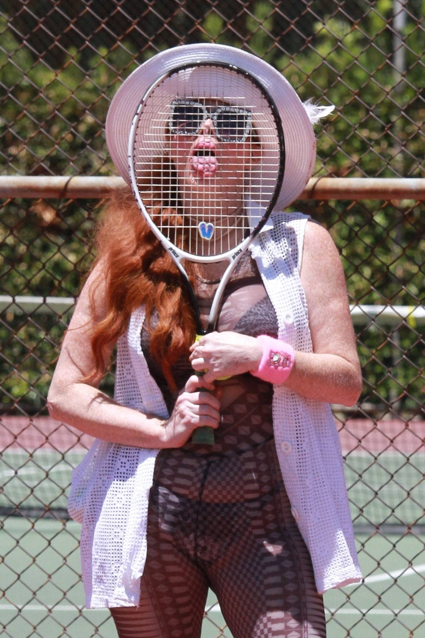 Phoebe Price - Pictured at tennis courts