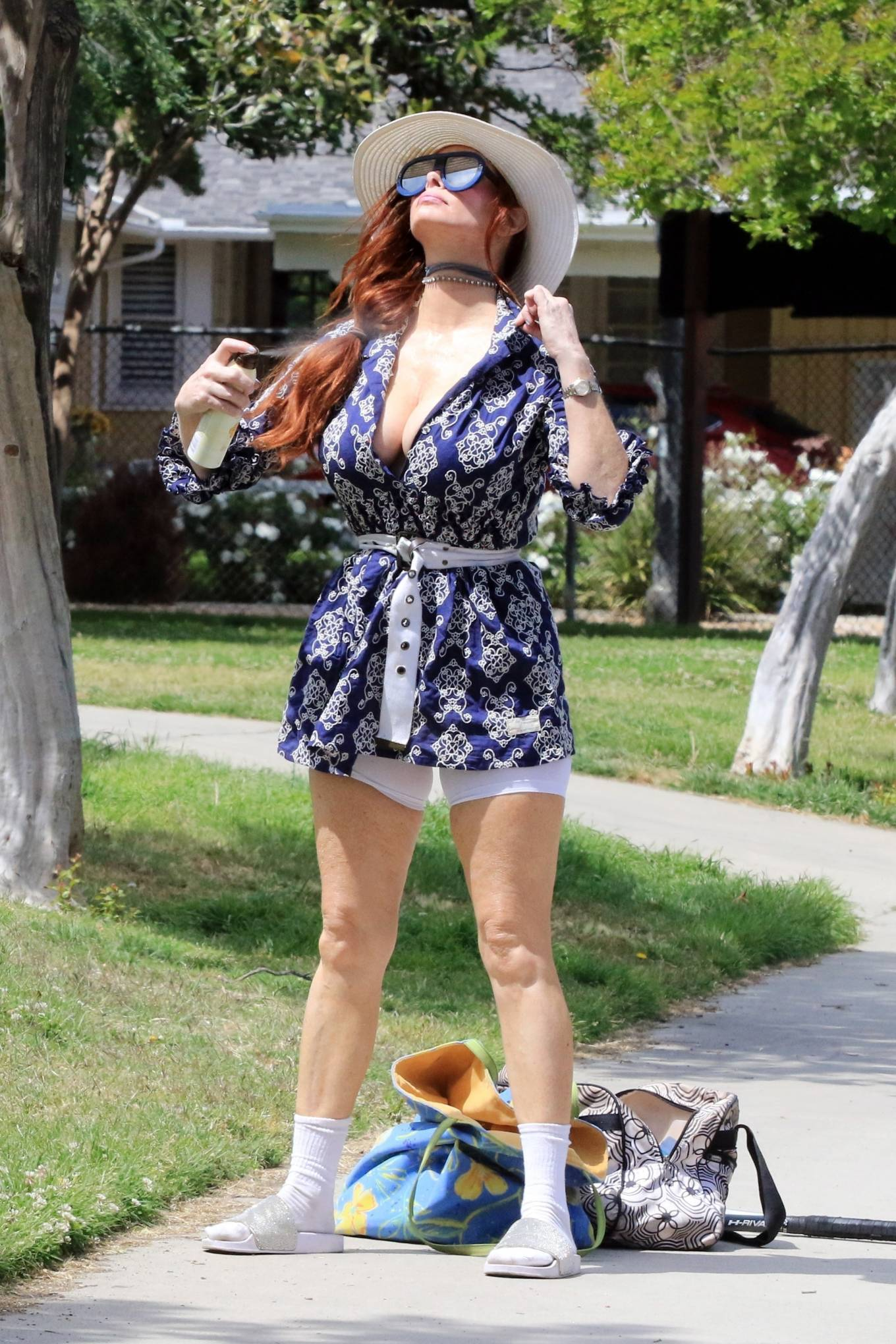 Phoebe Price 2021 : Phoebe Price – Posing at a park in Los Angeles-01