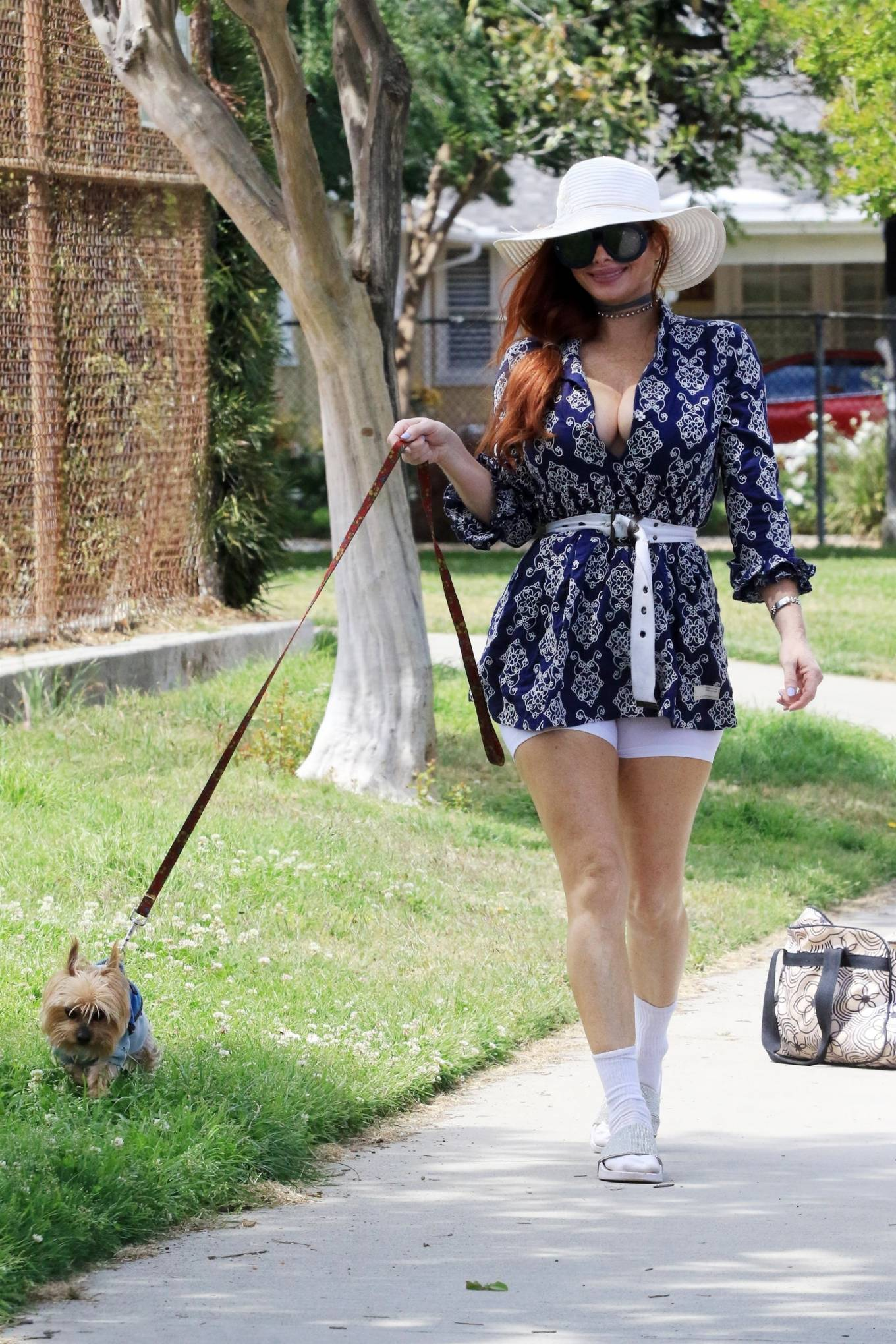 Phoebe Price 2021 : Phoebe Price – Posing at a park in Los Angeles-03