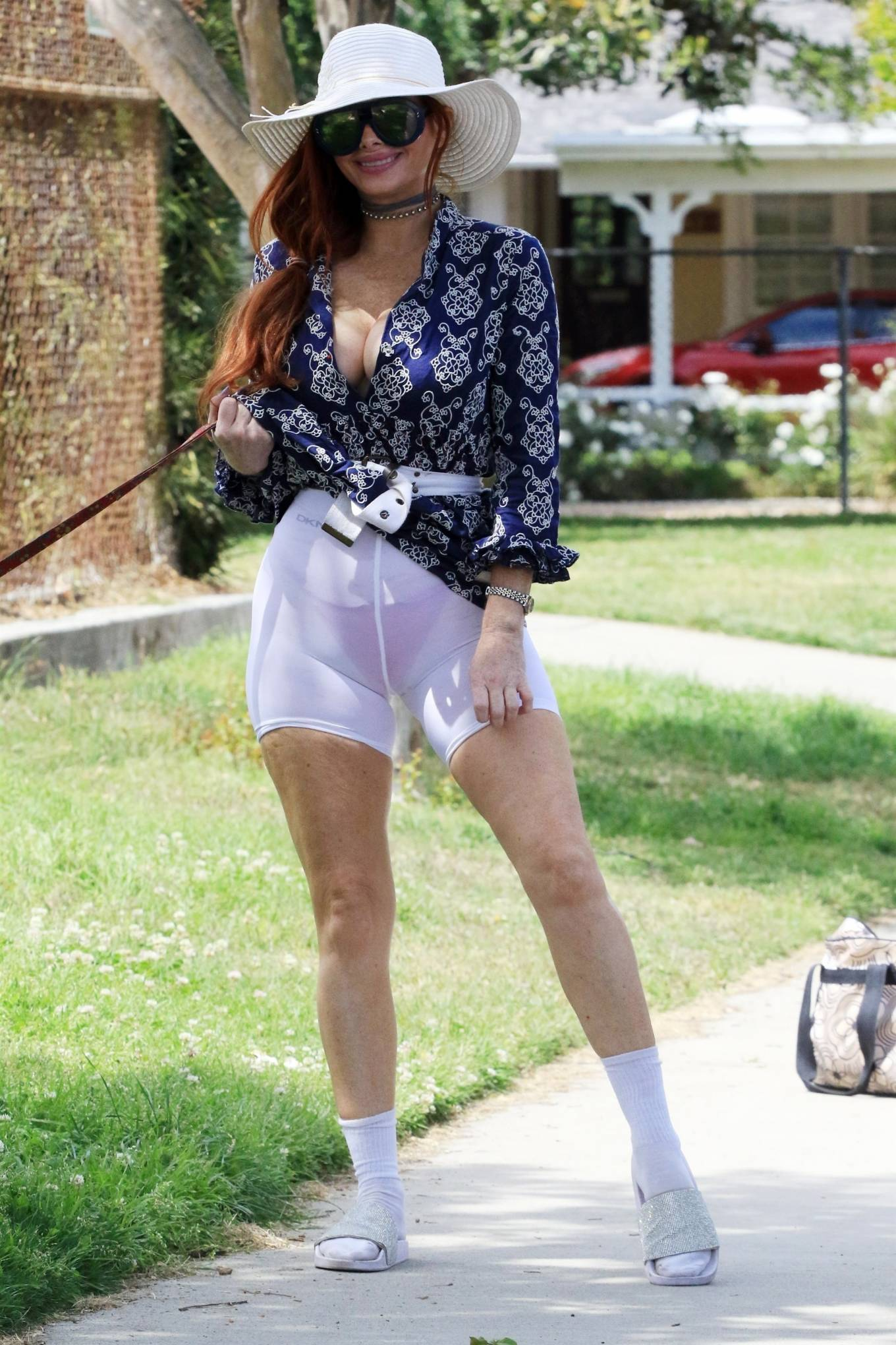 Phoebe Price - Posing at a park in Los Angeles