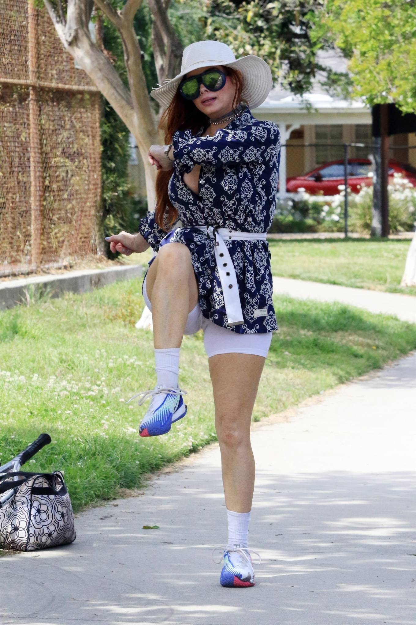 Phoebe Price 2021 : Phoebe Price – Posing at a park in Los Angeles-09