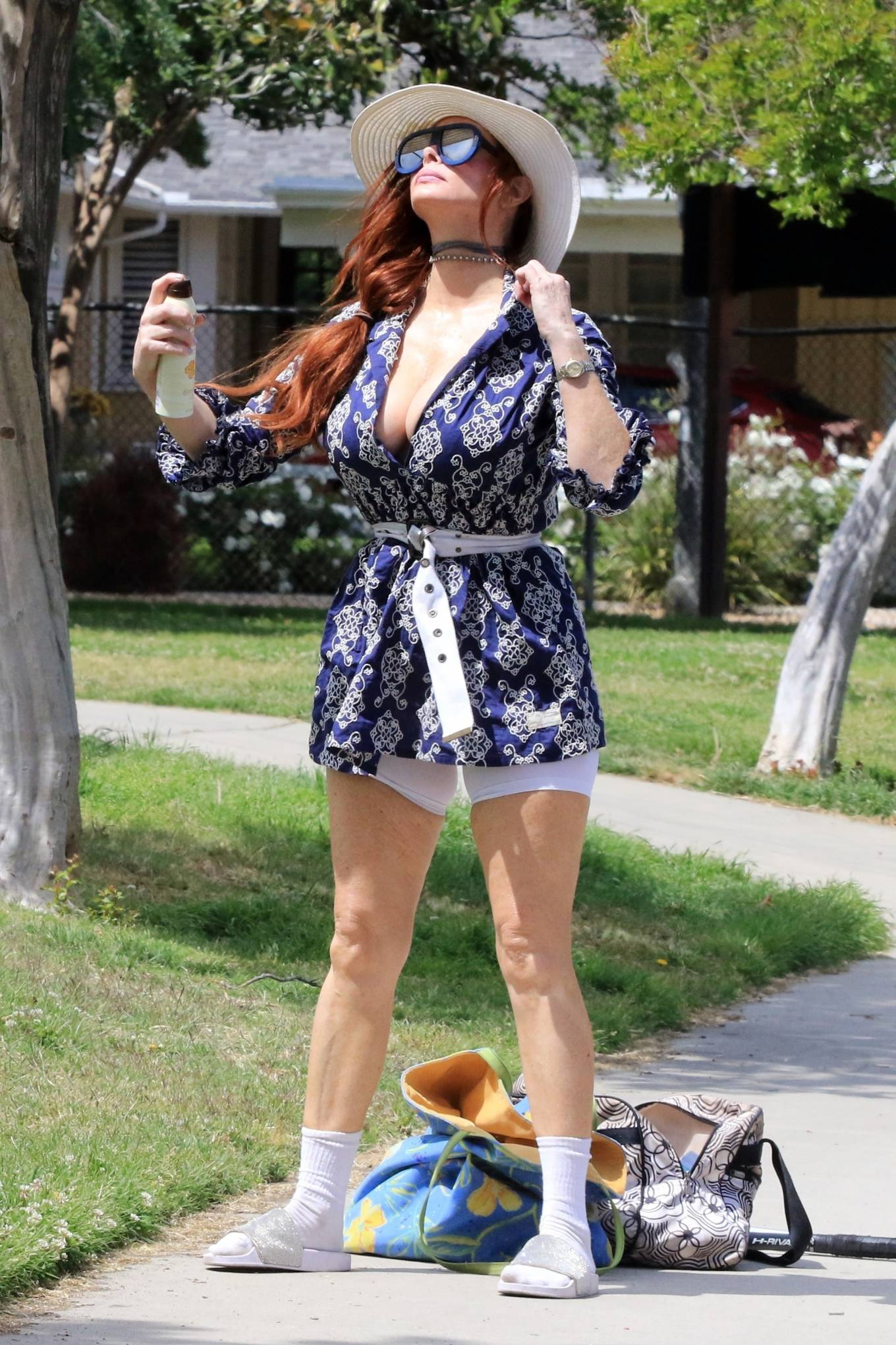 Phoebe Price 2021 : Phoebe Price – Posing at a park in Los Angeles-12