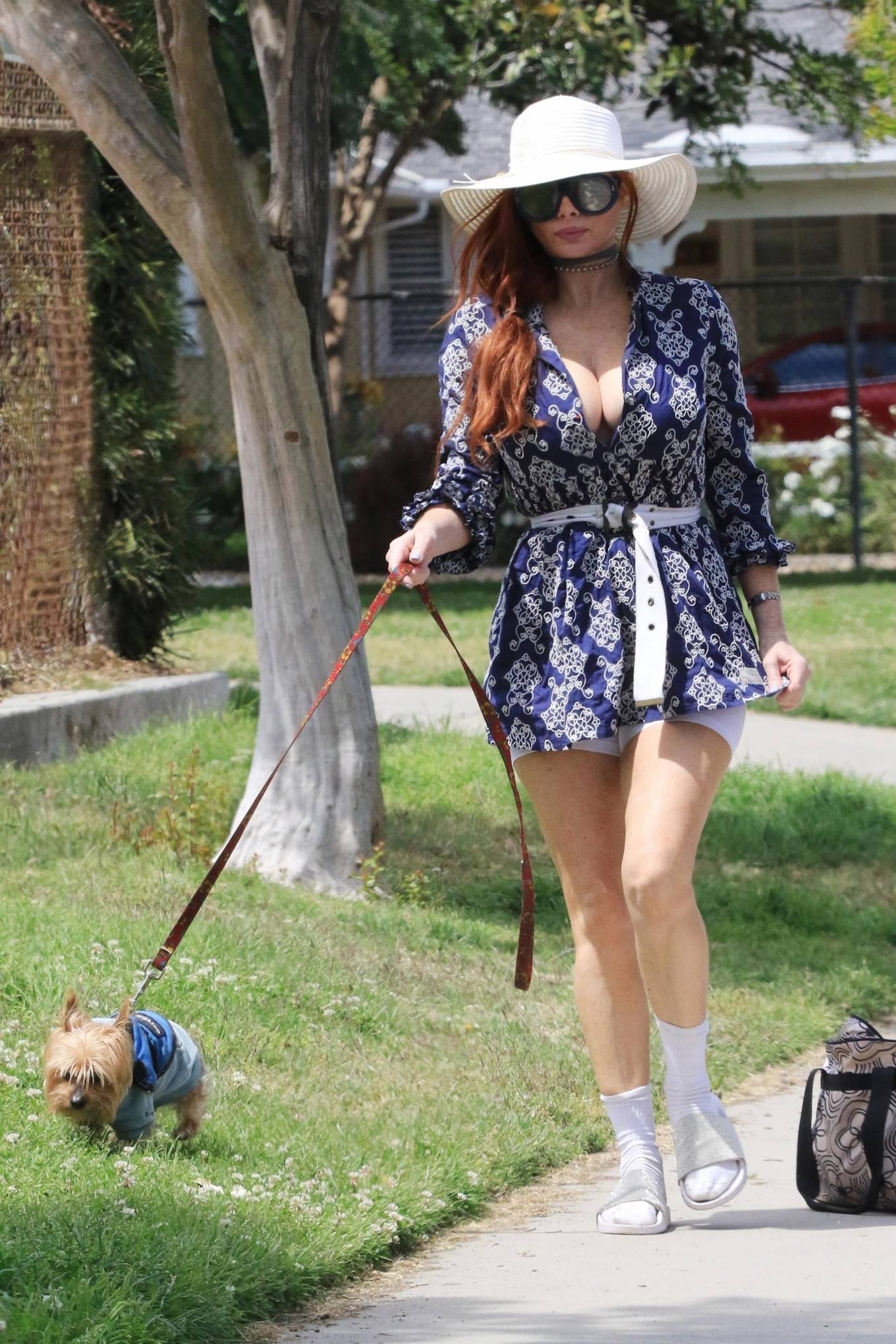 Phoebe Price 2021 : Phoebe Price – Posing at a park in Los Angeles-14