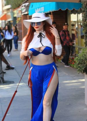 Phoebe Price - Seen in Beverly Hills