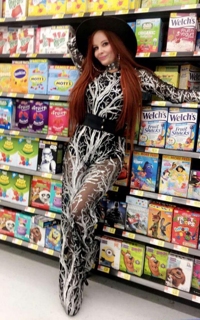Phoebe Price: Shopping at Walmart -05