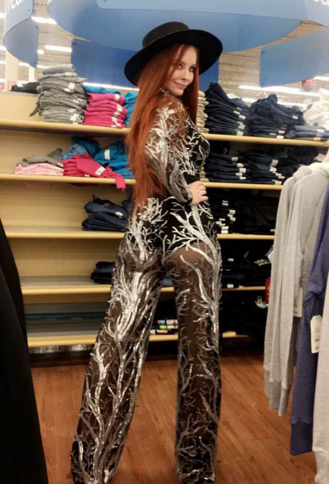 Phoebe Price: Shopping at Walmart -11