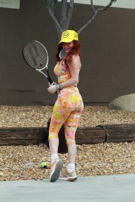 Phoebe Price - Tennis photoshoot during Quarantine