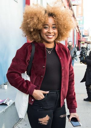 Phoebe Robinson - Arrives at Creatures of Comfort Show in New York