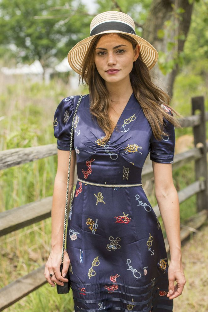Phoebe Tonkin – 2016 Veuve Clicquot Polo Classic in New Jersey